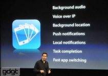 iphones OS 4.0, Multitasking, Features, Apple