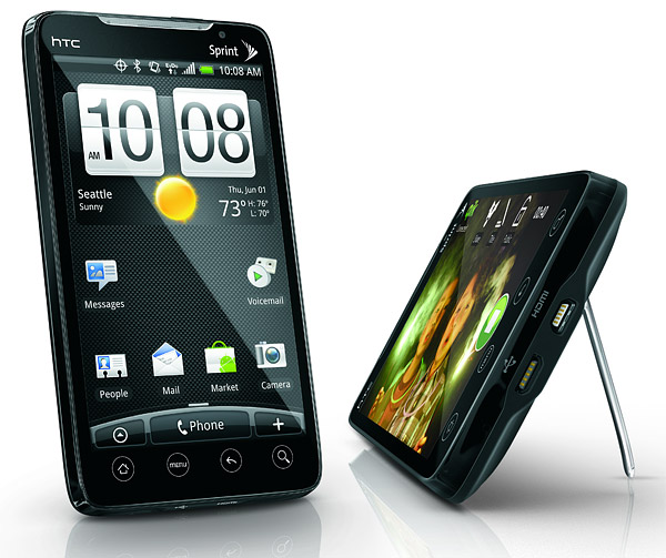 3g, 4g, android, Google, htc, HTC EVO 4G, Sense UI, Sprint, WiMAX