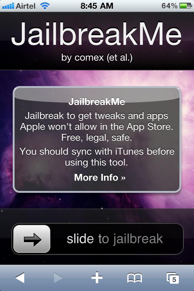 jailberak,iphone 4,jailbreakme,ios 4.0,ios 4.0.1,userland,unlock,jailberak iphone 4