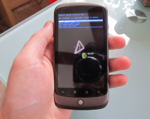 Android, gingerbread, google android 2.3.4, google nexus one,