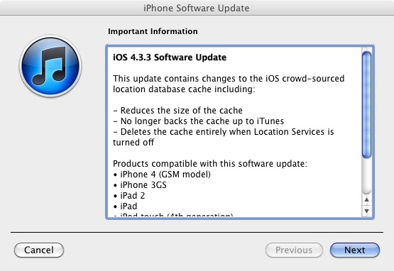 download ios, ios 4.3.3, ipad, iphone