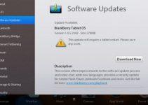 BlackBerry PlayBook OS Update