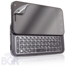 Samsung Android QWERTY Slider Mobile Leaked
