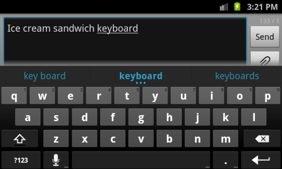 Download Ice Cream Sandwich KeyBoard For Android