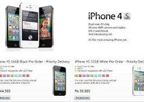 iphos-4-s-india-price