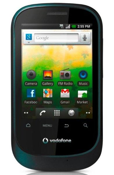 Vodafone Launches 3G Android Smartphone Vodafone Smart for Rs.4995