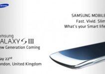 Samsung Galaxy S III Curvy Design