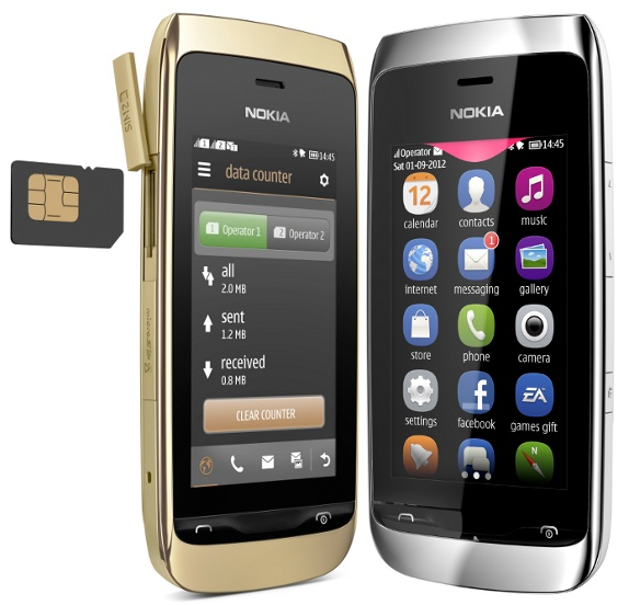 Nokia Asha 308 and Asha 309 Touch Screen Phones Announced