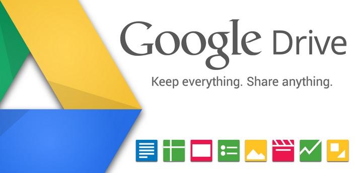 Google Drive Nexus 4 App