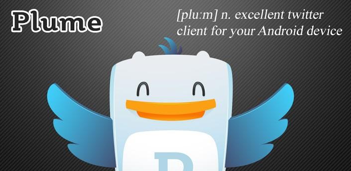 Plume Twitter Client Nexus 4 App