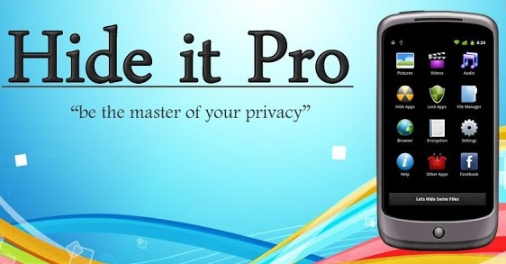 Hide it Pro App