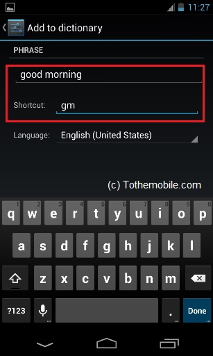 Add Shortcut on Android