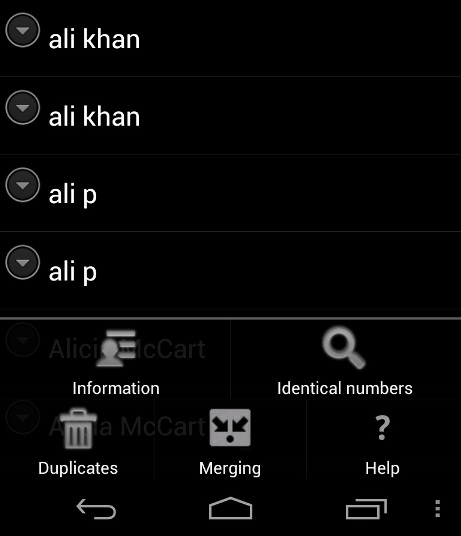 Find Duplicate Contacts On Android