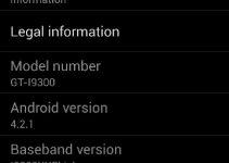 Galaxy S3 I9300XXUFMB3 Android 4.2.1 Jelly Bean