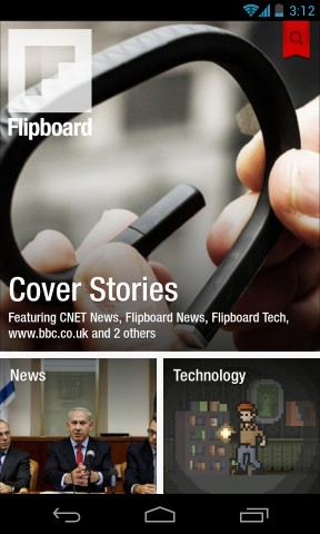 Flipboard Home Screen