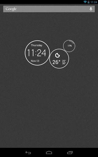 UCCW Skin - MotoBean Clock