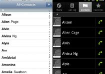 iPhone Android Contacts