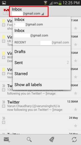 Check Multiple Gmail Account on Android
