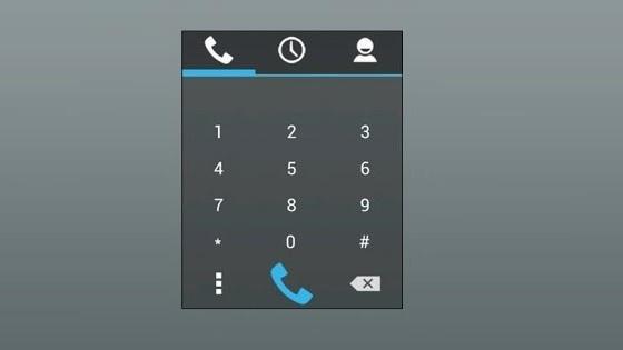 Simple Dialer Widget Android App