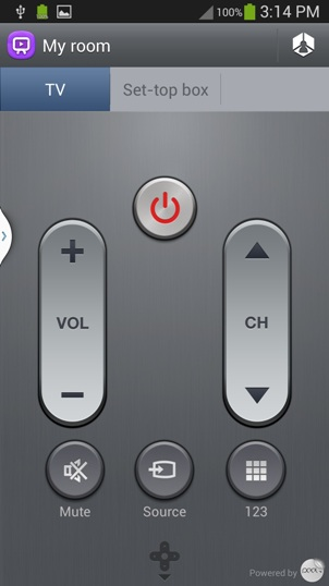 Use Galaxy S4 as a TV remote