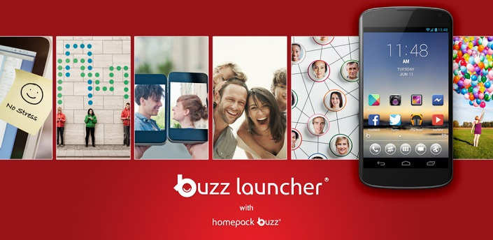 Buzz Launcher Android Application