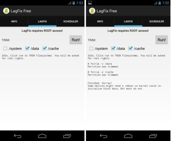 how to clean all temp files on android