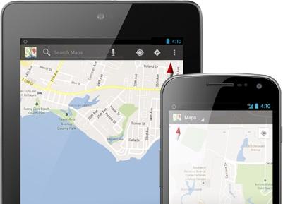 Google Maps in Offline mode