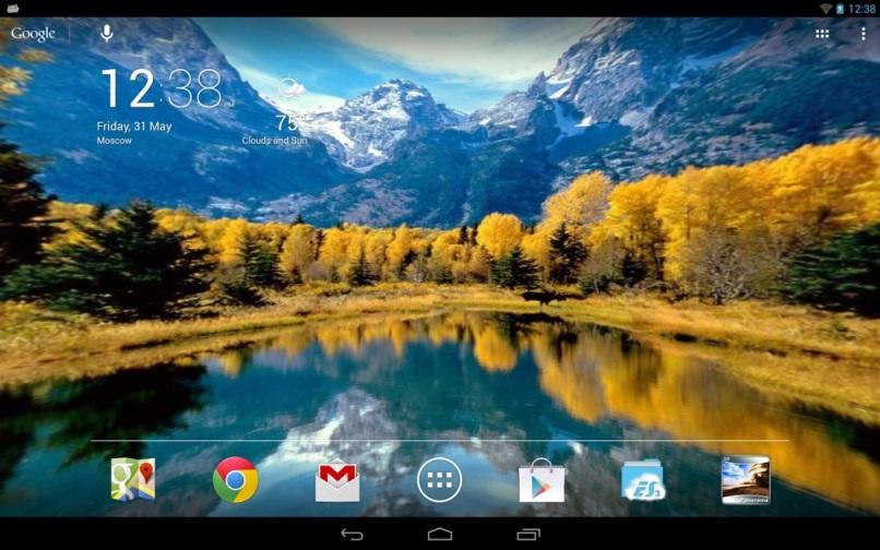 Panoramic Screen Live Wallpaper