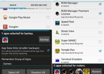 Backup and Restore Android Apps