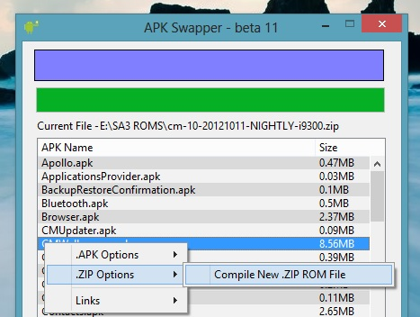 Compile New Zip ROM
