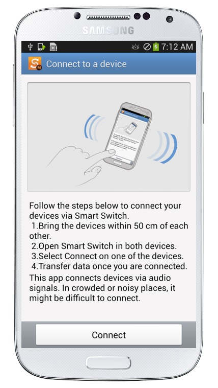 Connect a Samsung Device With Each Other