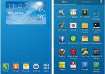 Galaxy S4 Launcher  Weather Widget