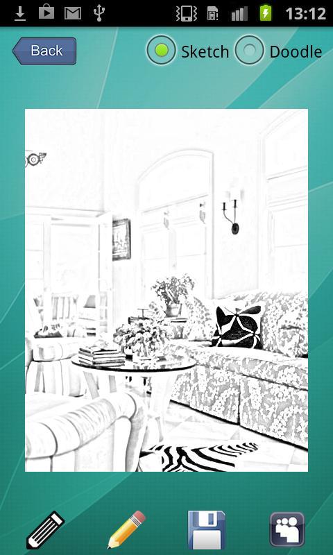 Pencil Sketch Android App