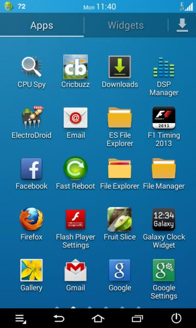 TouchWiz 5 Launcher