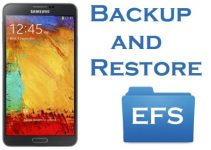 Backup and restore EFS