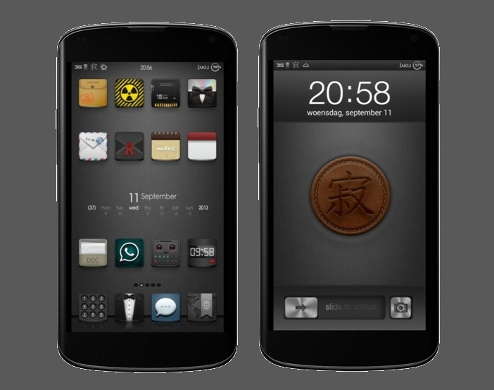 Jaku V5 Mixed Theme