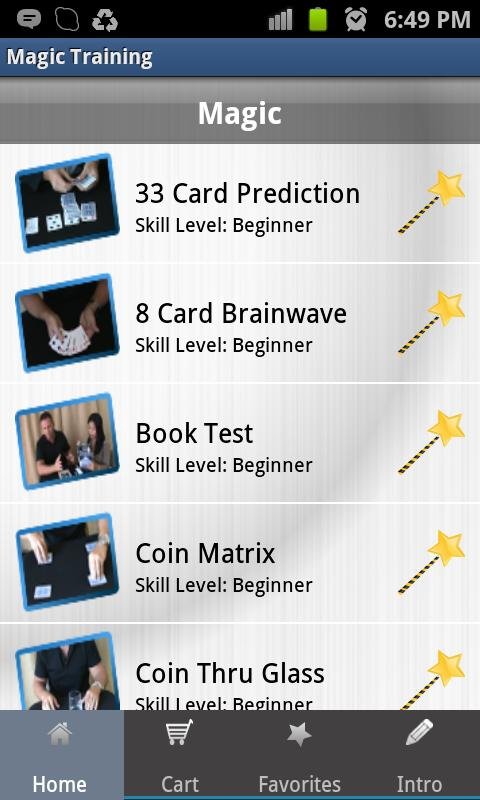 Magic Training