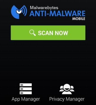 Malwarebyte android app features