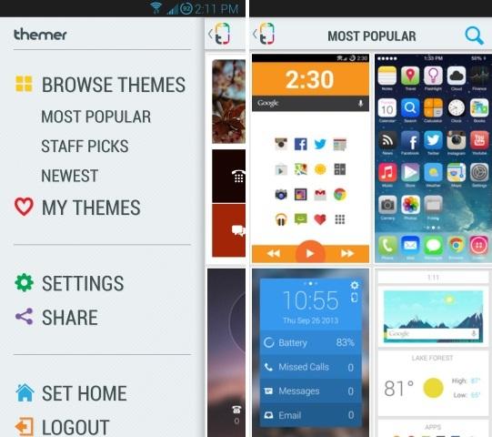 MyColorscreen themes