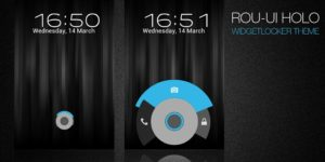 5 Beautiful Android OS Widgetlocker Themes