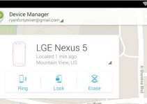 Android Device Manager Features