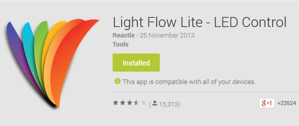 Light Flow Lite - LED Control
