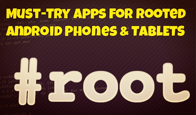 Rooted-android-applications
