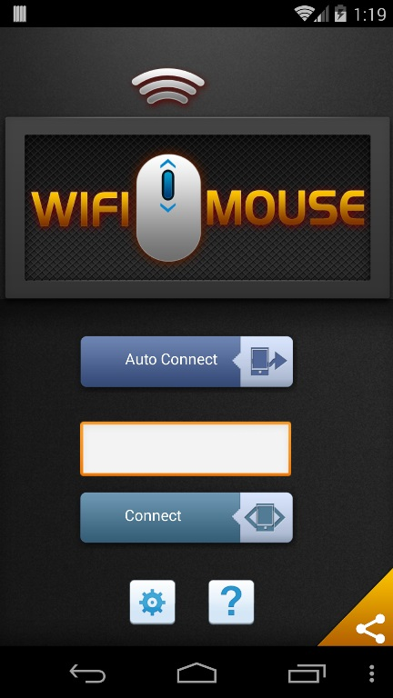 WiFi Mouse App