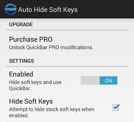 Enable Hide Soft Keys on Nexus