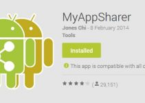 MyAppSharer Android App