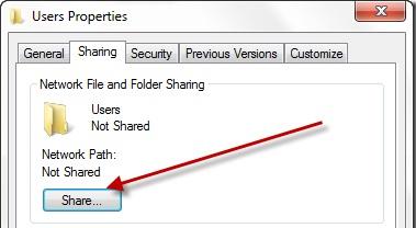Windows Folder Sharing
