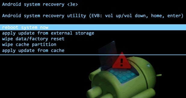 Stock android recovery
