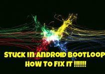 Stuck-Android-Bootloop