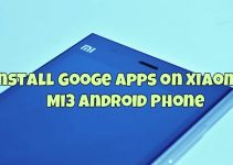Install Google Apps on Xiaomi Mi3 Android Phone